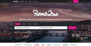 امکانات طراحی سایت خدمات مسافرتی