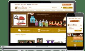 اهمیت طراحی سایت صنایع دستی