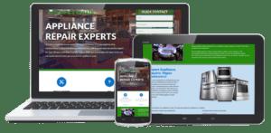 خدمات طراحی سایت فروشگاه لوازم خانگی