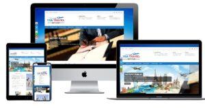 طراحی وبسایت خدمات مسافرتی