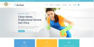 طراحی وبسایت خدمات منزل