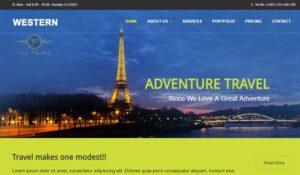 هزینه طراحی سایت خدمات مسافرتی در تهران