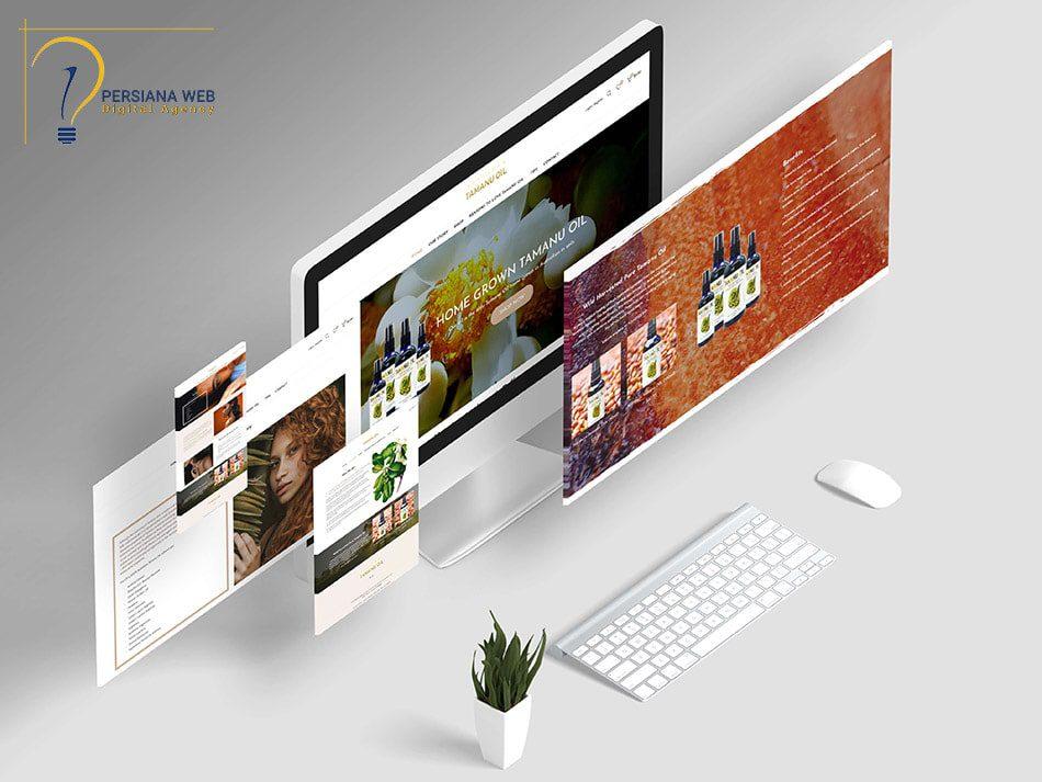 طراحی سایت ساده با وردپرس